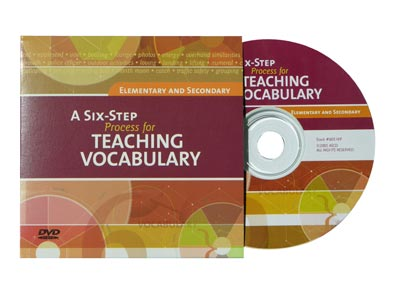 A Six-Step Process for Teaching Vocabulary DVD