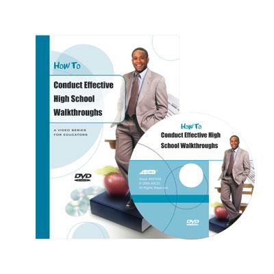 How to Conduct Effective High School Walkthroughs DVD