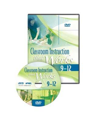 Classroom Instruction That Works DVD: High School