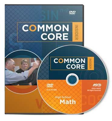 The Common Core Insider: High School Math DVD