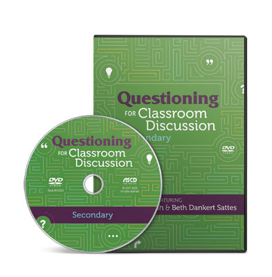 Questioning for Classroom Discussion- Secondary School DVD